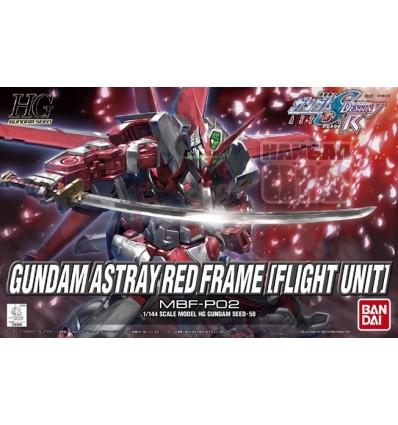 Astray Red Frame (Flight Unit) HG Bandai
