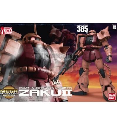 Zaku II Char Aznable Custom Mega Size Bandai