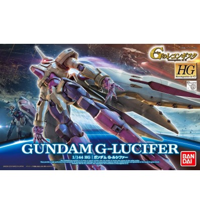 Gundam g lucifer hg bandai hangar 019 for Portent gundam hg