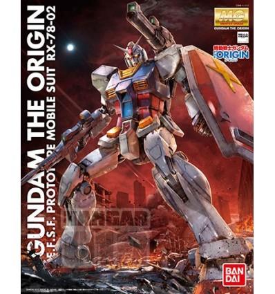RX-78-02 Gundam Origin Ver MG Bandai