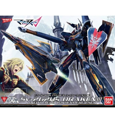 Draken III Keith Ver. 1/72 Transformable Bandai