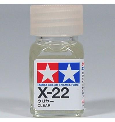 Clear X-22 Enamel Tamiya