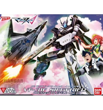 VF-31F Messer Ver. 1/72 Transformable Bandai