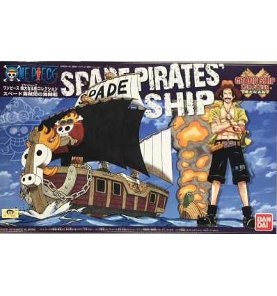 Spade Pirate GSC One piece Bandai