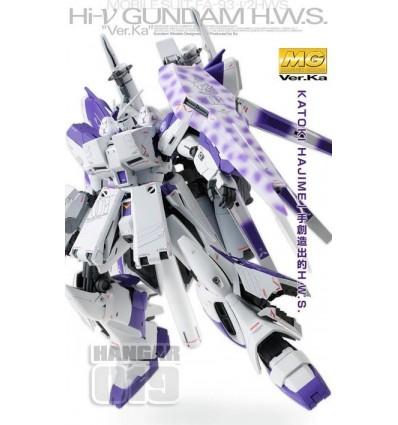Set Hi Nu Gundam Ver Ka MG + Expantion set P-Bandai