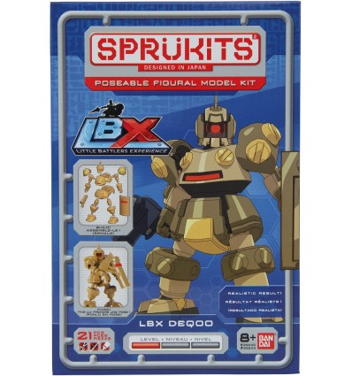 Deq00 Sprukits Bandai