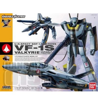 Macross VF1S Roy Focker 1/72 Transformable