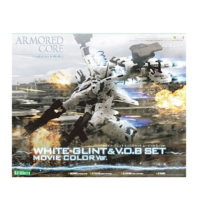 White Glint & V.O.B Set Movie Armored Core Kotobukiya 1/72