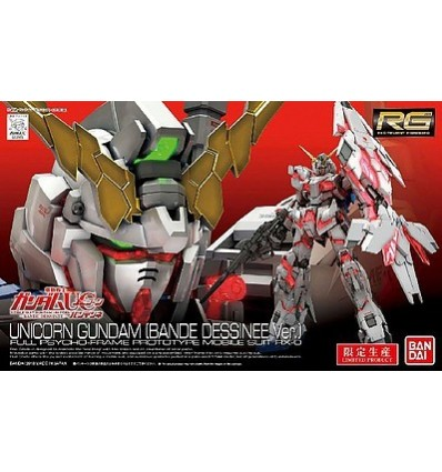 Unicorn RG Premium Box Bandai