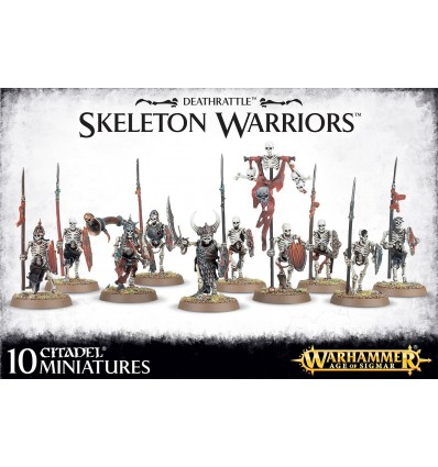 Skeleton Warriors 10 Miniatures Citadel Warhammer Age Of Sigmar