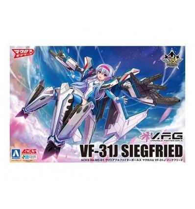 VF-31J Siegfried Hayate Ver. 1/72 Transformable Bandai