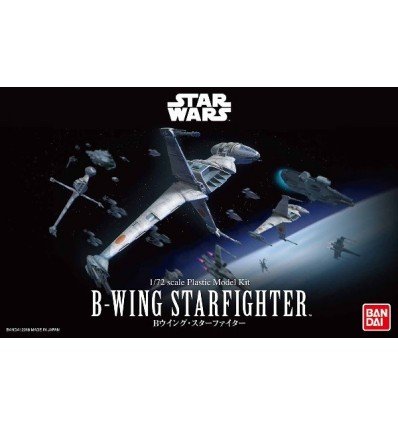 B-Wing Starfighter 1/72 Bandai