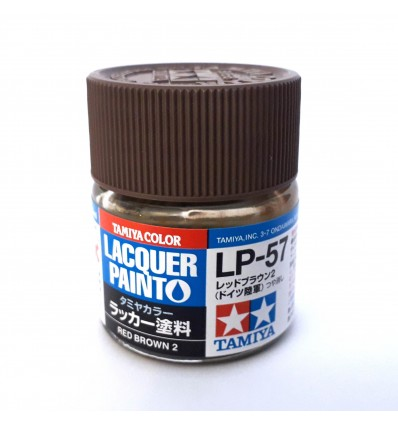 LP57 Red Brown 2 Lacquer Tamiya