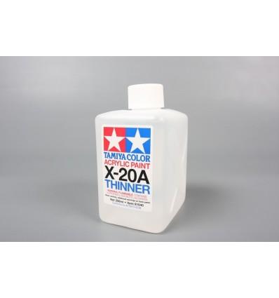 Thinner X-20A 250 ml Acrilico Tamiya
