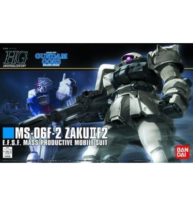 MS-06 Zaku F2 EFSF Ver HG Bandai