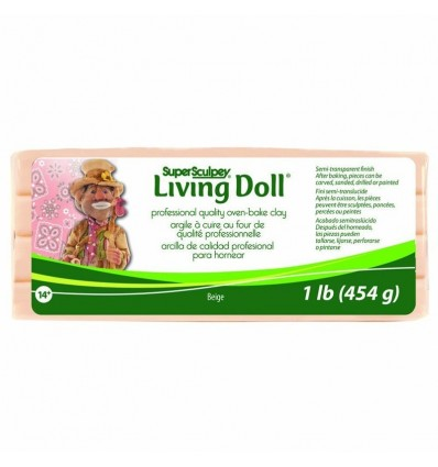 Super Sculpey Living Doll Beige