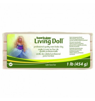 Super Sculpey Living Doll Light