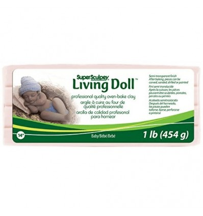 Super Sculpey Living Doll Baby