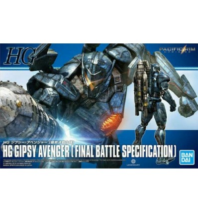 Gipsy Avenger HG Pacific Rim Bandai