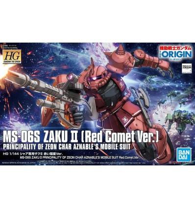 Zaku II Principality of Zeon Char Aznable Custom HG Bandai