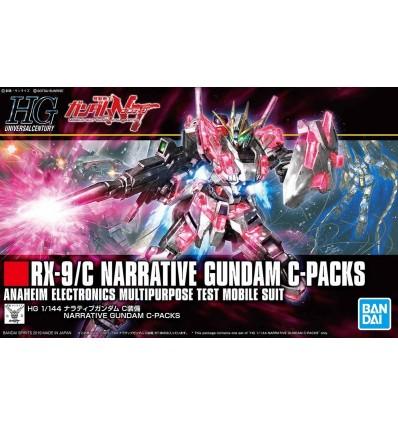Narrative Gundam C-packs HG Bandai