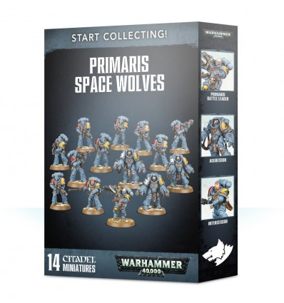 Start Collecting! Space Wolves Citadel