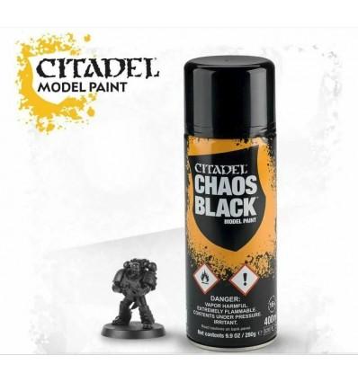 CHAOS BLACK Spray Citadel