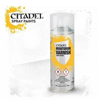 CITADEL MUNITORUM VARNISH Spray Citadel