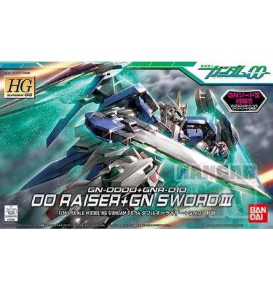 00 Raiser + GN Sword III HG Bandai
