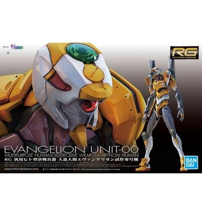 EVA 00 DX Positron Cannon Set RG Bandai