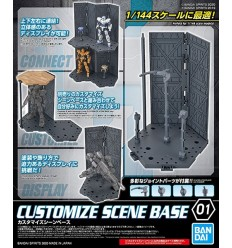 Action Base 4 Clear Bandai