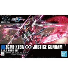 JUSTICE GUNDAM RG Bandai