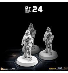 Heavy Missile Battlepod (Set of 3) 1/285 Kids Logic