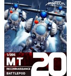 Zentraedi Heavy Battle Armor (Set of 3) 1/285 Kids Logic