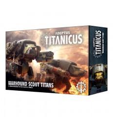 Adeptus Titanicus Warhound Scout Titans Citadel