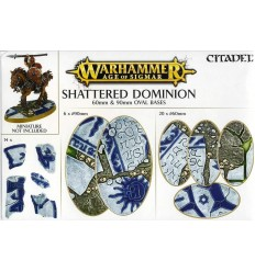 Shattered Dominion 60mm - 90mm Oval Bases Citadel