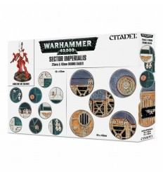 Sector Imperialis 25mm - 40mm Round Bases Citadel
