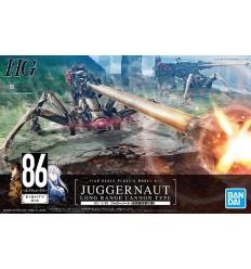 Juggernaut Long Range Cannon Type 1/48 Bandai