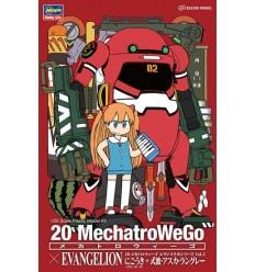 MechatroWeGo EVA Collaboration Series Unit 00 - Rei Ayanami Hasegawa