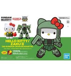 Hello Kitty & RX-78-2 SD Bandai