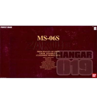 Zaku II MS-06S PG Bandai