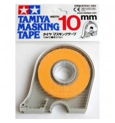 Masking Tape 10mm con dispensador Tamiya