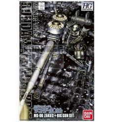 HG Zaku II & Big Gun (Thunderbolt Ver.)