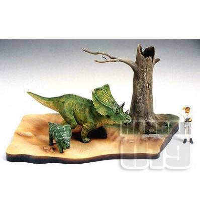 Chasmosaurus Diorama Set 1/35 Tamiya