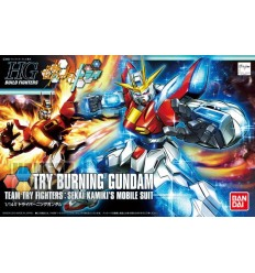 Try Burning Gundam HG Bandai