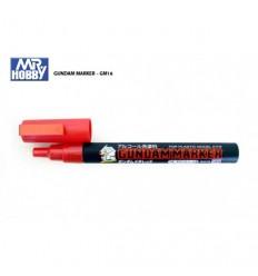 Gundam marker Rojo Metalico GM16