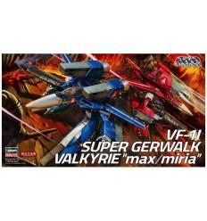 "VF-1J Super Gerwalk Valkyrie ""Max/Milia"" Hasegawa"