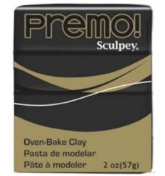 Premo barra 57grs Negro Sculpey