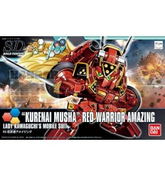Kurenai Musha Red Warrior Amazing SD Bandai