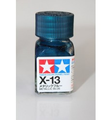 X-13 Metallic Blue Enamel Tamiya
